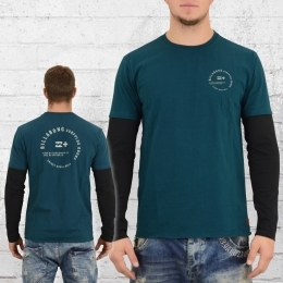 Billabong Herren Longsleeve T-Shirt Surplus petrol