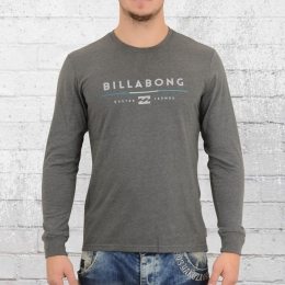 Billabong Herren Longsleeve T-Shirt Tri Unity grau