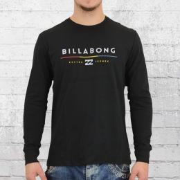 Billabong Herren Longsleeve T-Shirt Tri Unity schwarz
