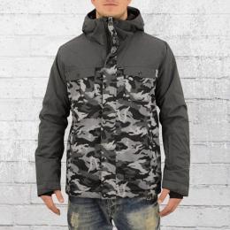 Billabong Herren Snowboard Funktion Winter Jacke Beam schwarz grau camo