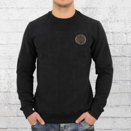 Billabong Herren Sweater Patrol Crew phantom schwarz