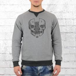 Billabong Herren Sweatshirt Skullsplitter grau