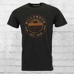 Billabong Herren T-Shirt Rock Point schwarz