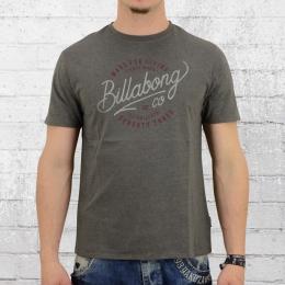 Billabong Herren T-Shirt Trailer grau meliert