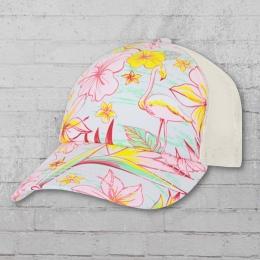 Billabong Kappe Tropicap Trucker Hat weiss rosa