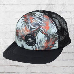 Billabong Kinder Cap Poolsider Trucker Snap Back Hat schwarz grau