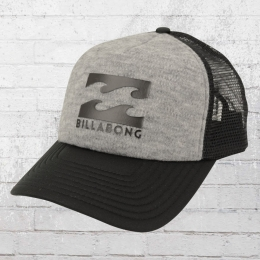 Billabong Kinder Podium Trucker Boy Cap grau schwarz