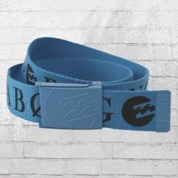 Billabong Kinder Stoff Gürtel Wagon Belt blau