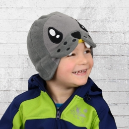 Billabong Kinder Winter Fleece Mütze Lucas Robbe grau