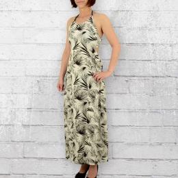 Billabong Kleid Damen Love Trippin Plam Mix weiss schwarz