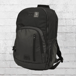 Billabong Laptop Rucksack Command Pack schwarz