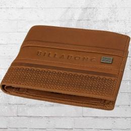 Billabong Leder Geldbörse Phoenix Wallet braun