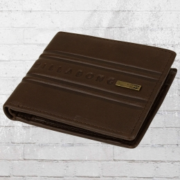 bcc8fd015c62d Billabong Leder Portemonnaie Phoenix Wallet braun