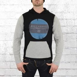 Billabong Longsleeve Kapuzenshirt Periscope Siesta Hoody schwarz grau
