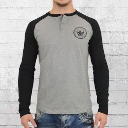 Billabong Longsleeve Männer T-Shirt Myers Tee grau schwarz