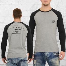 Billabong Longsleeve Männer T-Shirt Shock grau schwarz