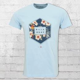 Billabong Männer Access T-Shirt hellblau