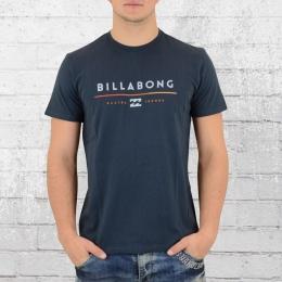Billabong Männer Core Fit T-Shirt Tri Unity blau