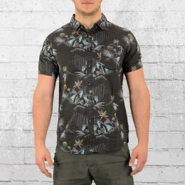 Billabong Männer Hawaii Hemd Sundays Floral schwarz