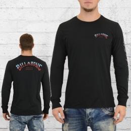 Billabong Männer Longsleeve T-Shirt Known schwarz