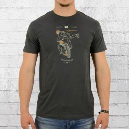 Billabong Männer T-Shirt Kick Start dunkelgrau
