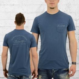 Billabong Männer T-Shirt Surfplus blau