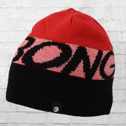 Billabong Mütze Force Beanie rot schwarz