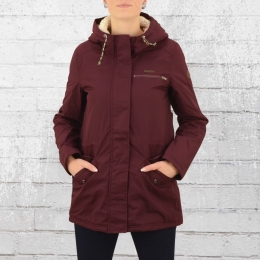 Billabong Parka Frauen Winterjacke Faciliti weinrot