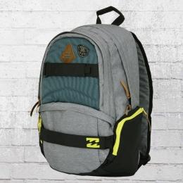 Billabong Rucksack Hermosa Backpack charcoal mit Board-Halter grau