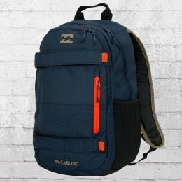 Billabong Skate Rucksack No Comply Laptop Backpack blau