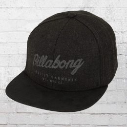 Billabong Sama Yupoong Snapback Cap schwarz meliert