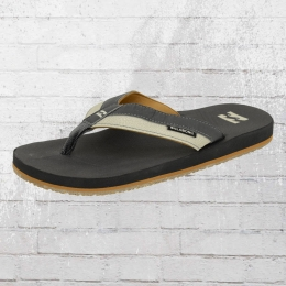 Billabong Sandale All Day Impact bootstauglich Zehentrenner grau beige