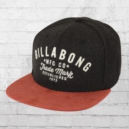 Billabong Snapback Kappe Sama Cap schwarz rot