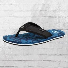 Billabong Spirit Camo Männer Zehentrenner Sandale blau schwarz