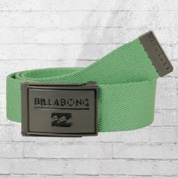 Billabong Stoff Gürtel Sergeant Belt grün