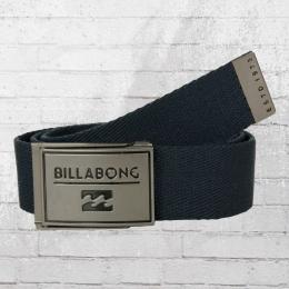 Billabong Stoffgürtel Sergeant Belt dunkelblau