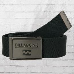 Billabong Stoffgürtel Sergeant Belt schwarz
