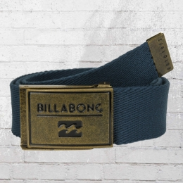 Billabong Stoffgürtel Sergeant Belt Unisex dunkelblau