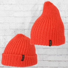 Billabong Strick Mütze Mountain Tripe Beanie orange