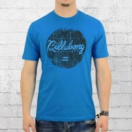 Billabong T-Shirt Herren Scriptik blau