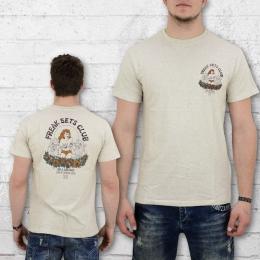 Billabong T-Shirt Männer Freaksets beige meliert