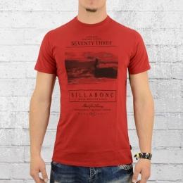Billabong T-Shirt M�nner Haze rot