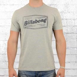 Billabong T-Shirt Männer Labrea Tee grau meliert