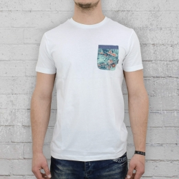 Billabong Pocketed T-Shirt Männer Transmit Crew weiss
