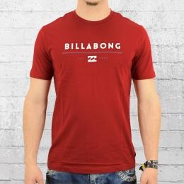Billabong T-Shirt Männer Unity rot