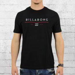 Billabong T-Shirt Männer Unity schwarz