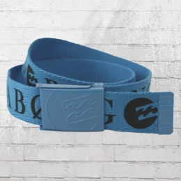 Billabong Unisex Stoff Gürtel Wagon Belt blue