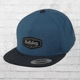 Billabong Yupoong Snapback Cap Oxford blau