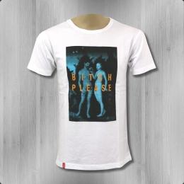 Kream T-Shirt Herren B*tch please white