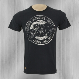 Goodyear Motorrad T-Shirt Männer Bloomington Bike schwarz